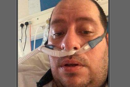 Зараженный коронавирусом мужчина сделал предупреждение из реанимации