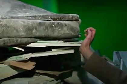 Москвичи оказались заблокированы горой строительного мусора