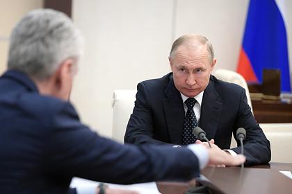 Путин объявил о нерабочей неделе в России