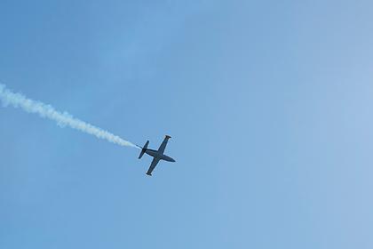 В Российской Федерации потерпел крушение военный самолет L-39, пилот умер