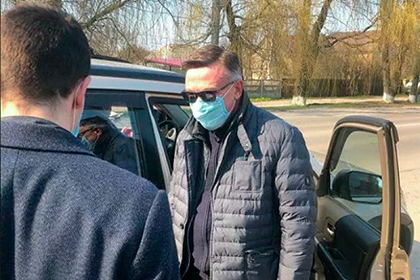 Задержание экс-главы МИД Украины по подозрению в убийстве попало на видео