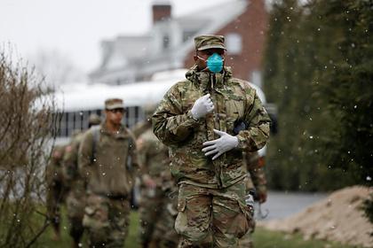 Военным США запретили выезжать за границу