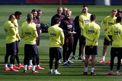 Футболисты «Барселоны» взбунтовались из-за просьбы отказаться от части зарплаты