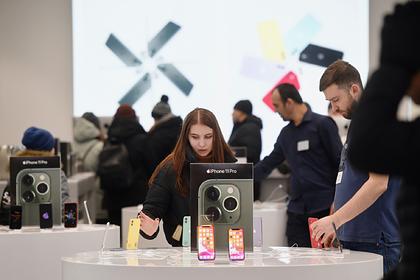 В России подорожали iPhone
