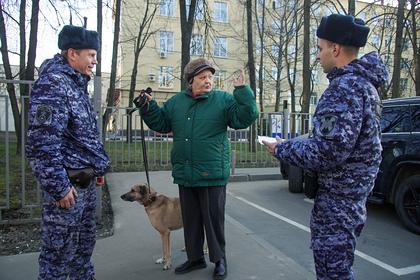 Российская полиция утвердила план срочных мероприятий по борьбе с коронавирусом