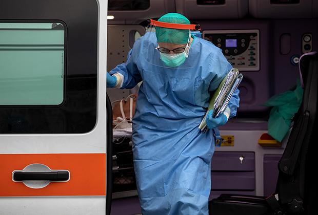 Врач скорой помощи в Италии