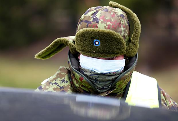 Эстонский пограничник