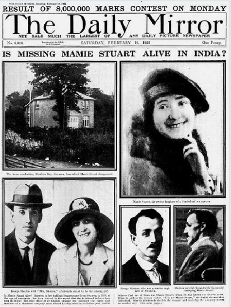 В 1923 году Daily Mirror писала, что Мейми Стюарт якобы видели в Индии