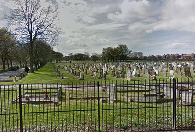 Кладбище в Сандерленде, где похоронены Мейми Стюарт и ее родители