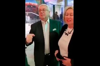 Опубликовано видео вечеринки с заразившимся Лещенко и другими звездами