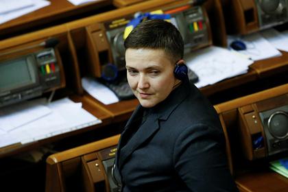 Савченко рассказала о «глотке воздуха перед смертью» для украинцев