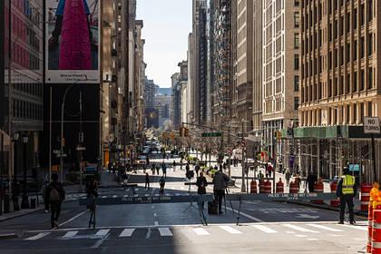 В Нью-Йорке зараженные коронавирусом начали умирать каждые 17 минут