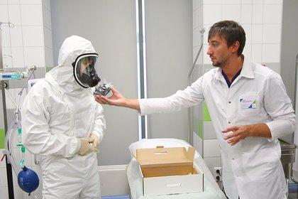 В России начали в онлайн-режиме учить врачей борьбе с коронавирусом