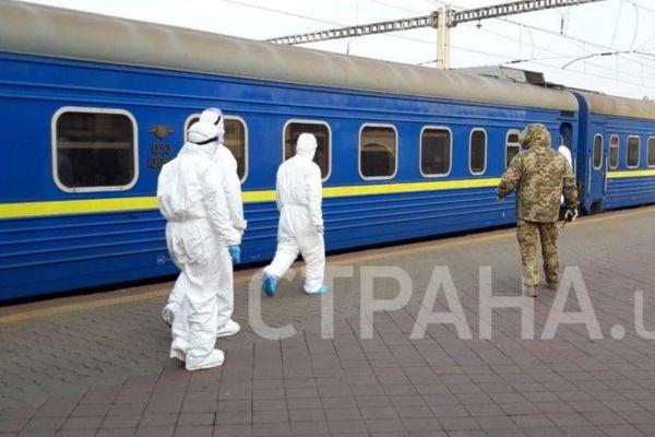 Спецпоезд из Москвы доставил на родину несколько сотен украинцев