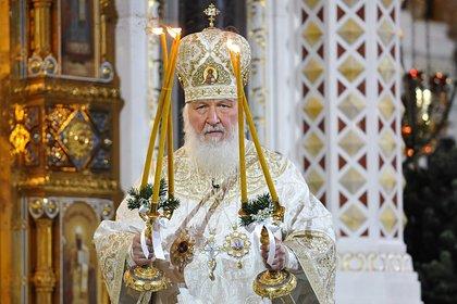 Патриарх Кирилл призвал не ходить в храмы