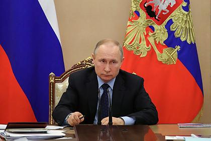 Путин поручил помочь экономике России из-за коронавируса