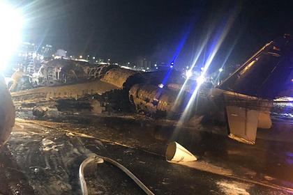 Самолет с пациентом и медиками сгорел при взлете из аэропорта Манилы