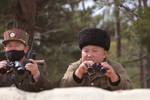 Северная Корея испытала многозарядную пусковую установку