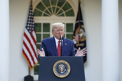 Трамп предсказал сроки достижения дна в США из-за коронавируса