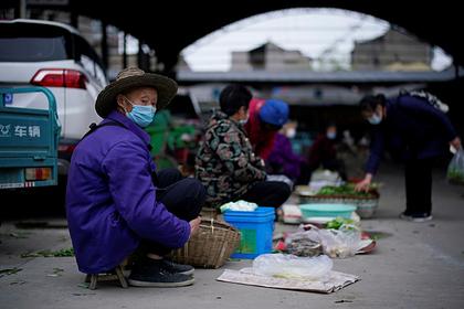 В Китае за сутки коронавирусом заразился всего один человек