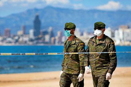 В Испании за сутки умерло более 800 человек от коронавируса