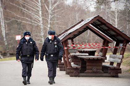 Определены места патрулирования полиции в Москве в режиме всеобщей изоляции