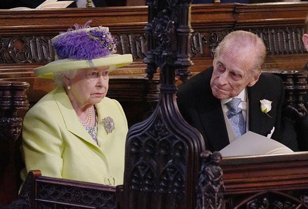 Королева Елизавета II и ее муж, принц Филипп