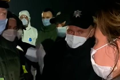 Находящиеся на карантине украинцы пригрозили голодовкой