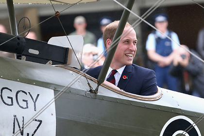 Принц Уильям пожелал стать пилотом санитарной авиации и бороться с коронавирусом