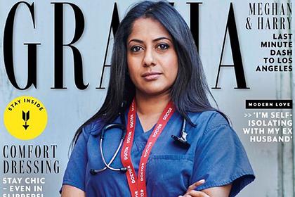 Моделями для глянцевого журнала впервые стали обычные женщины-врачи