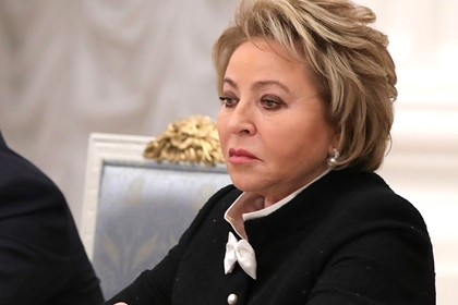 Матвиенко пошутила о спецпропусках для москвичей