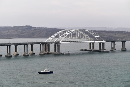 На Крымском мосту установят блокпост для борьбы с коронавирусом