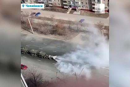 В российском городе заметили машины с авиатурбинами для борьбы с коронавирусом
