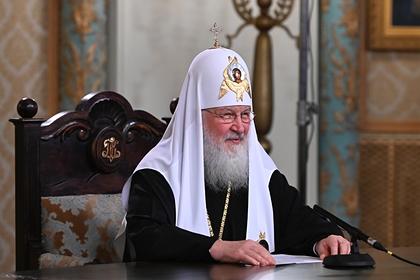 Патриарх Кирилл призвал молиться дома
