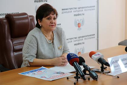 В ДНР диагностировали второй случай коронавируса
