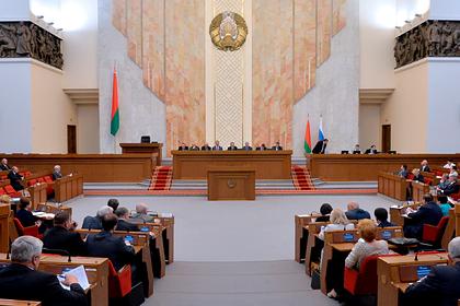 Парламент Белоруссии ратифицировал визовое соглашение с ЕС