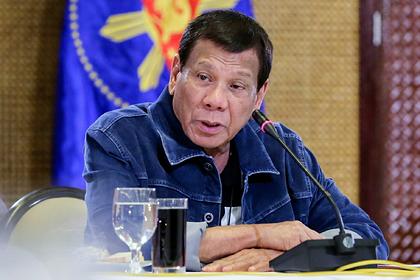 Президент Филиппин пообещал расстреливать нарушителей карантина