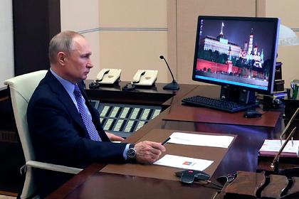 Путин поручил разработать меры по спасению экономики России