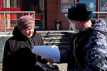 Росгвардейцы начали патрулировать улицы Подмосковья
