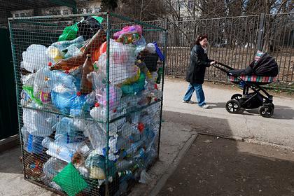 В России предрекли мусорный коллапс из-за коронавируса