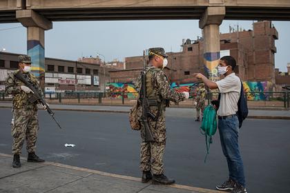 Мужчинам и женщинам в Перу запретили одновременно выходить на улицу