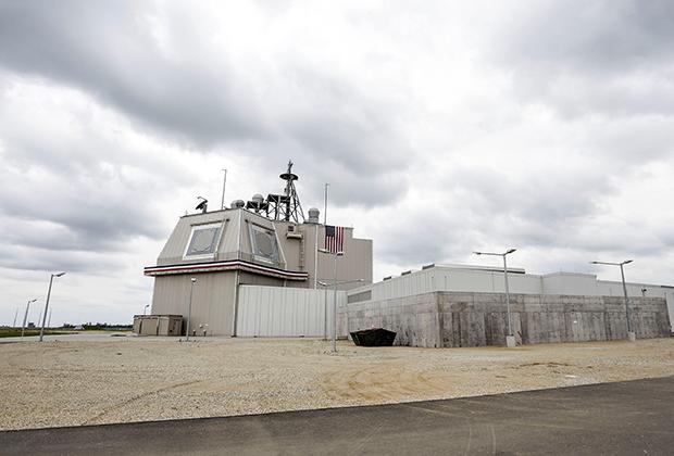 Рубка системы противоракетной обороны Aegis Ashore в Румынии