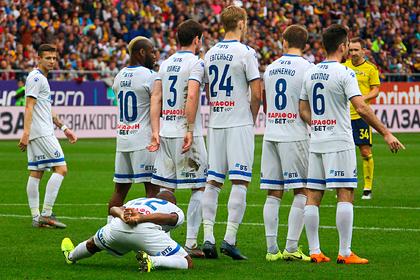 Футболисты «Динамо» отказались от сокращения зарплаты на 40 процентов