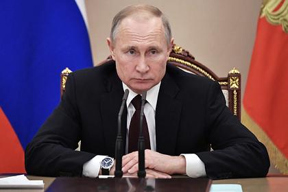 Путин подписал закон о кредитных каникулах россиян