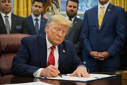 Трамп уволит начавшего процедуру импичмента чиновника