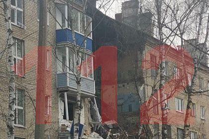 В жилом доме в Подмосковье произошел взрыв