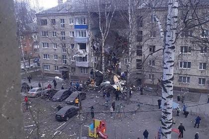 Взрыв в жилом доме в Орехово-Зуеве попал на видео