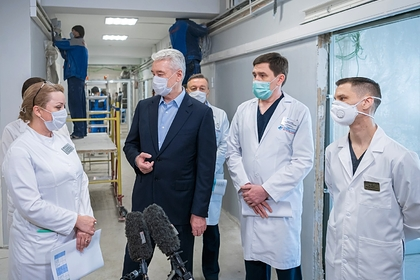 Собянин оценил степень риска Москвы по коронавирусу