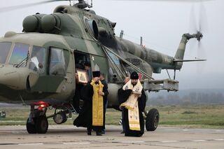 После воздушного крестного хода в Северной Осетии