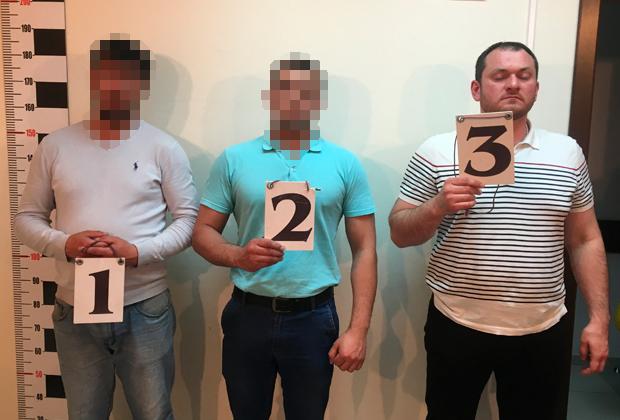 Насрудин Эдильханов на процедуре опознания свидетелями похищения